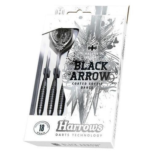 Rzutki black arrows softip 16gr marki Harrows