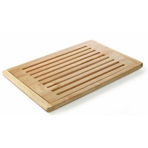 Hendi drewniana deska do krojenia chleba z wyjmowaną kratką | 475x322mm - kod product id