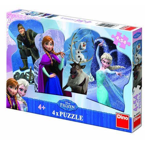Dino toys Puzzle 4x54 kraina lodu dino