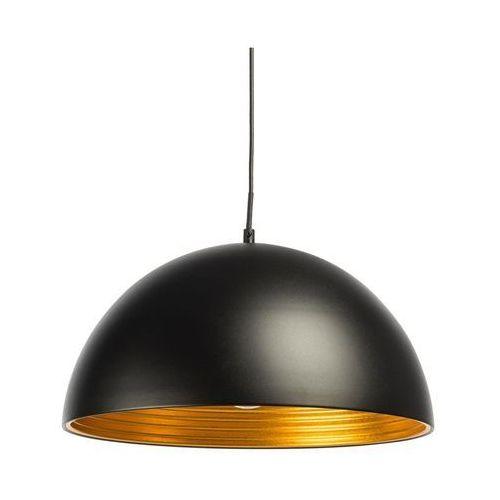 Inspire Lampa wisząca judson czarno-złota e27