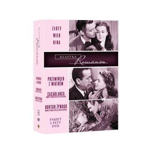 Złoty wiek kina. Pakiet największe romanse wszech czasów (5xDVD) - Michael Curtiz, Victor Fleming, David Lean (7321909673700)