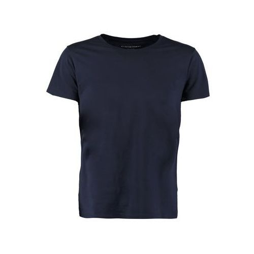 Selected homme  men's dave pima short sleeve cotton t-shirt - night sky - l