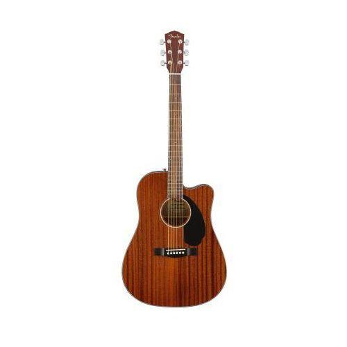 cd-60sce dreadnought al mahogany wn gitara elektroakustyczna marki Fender
