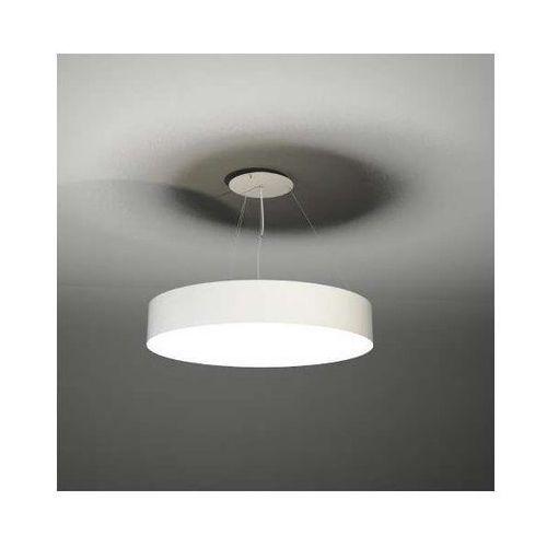 Wisząca LAMPA minimalistyczna BUNGO 5517-B/E27/BI Shilo okrągła OPRAWA zwis biały, kolor Biały