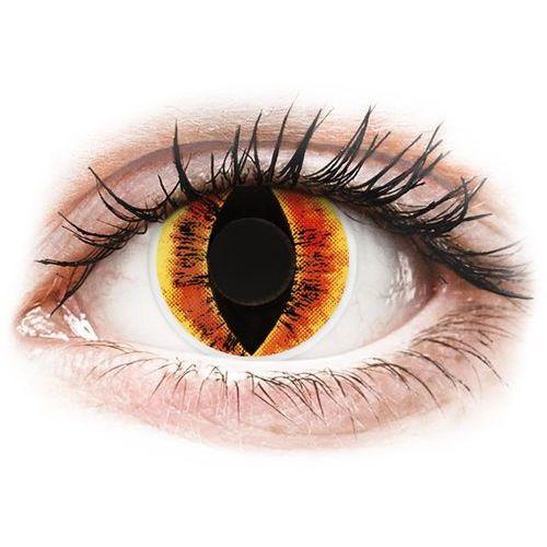 Maxvue vision Soczewki kolorowe czerwone sauron`s eye crazy lens 2 szt.