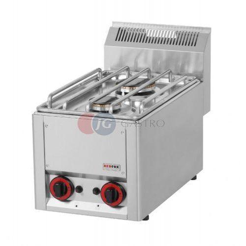 Kuchnia gazowa stołowa 2-palnikowa Red Fox linia 600 SP 30 GL, SPL - 33 G