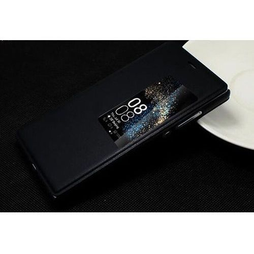 Flip Leather Czarny | Etui z klapką dla Huawei P9 - Czarny