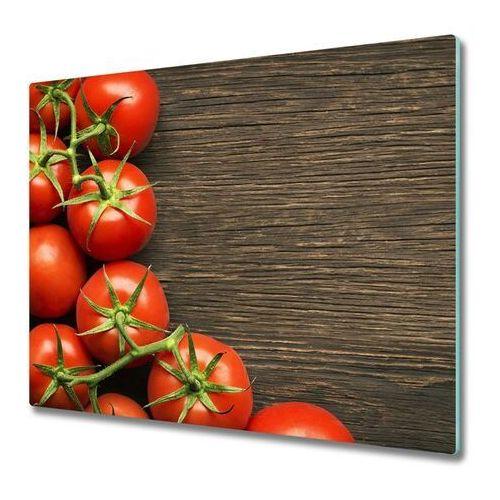 Tulup.pl Deska do krojenia pomidory na drewnie