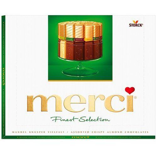 Bombonierka Merci Finest Selection Kolekcja czekoladek mlecznych 250g