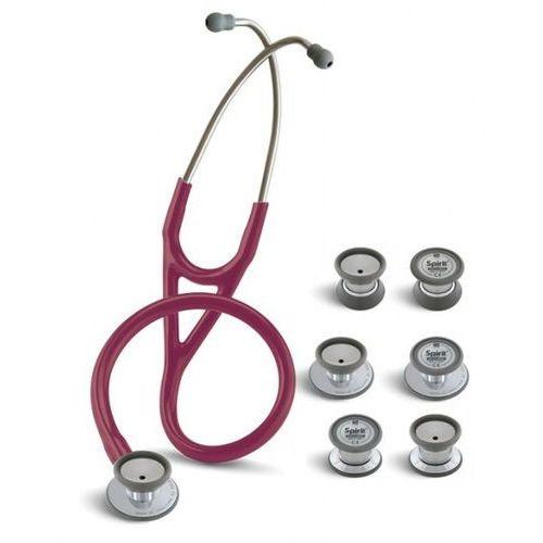 Spirit Stetoskop kardiologiczny trisem sprague 749pf 4w1 - burgundowy