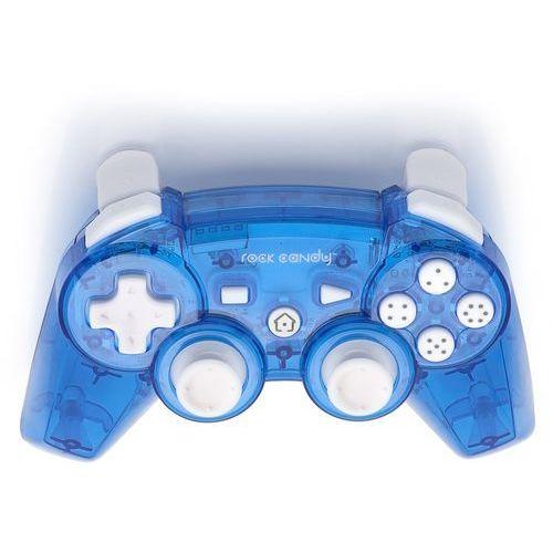 Kontroler  rock candy ps3 niebieski marki Pdp