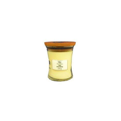 Woodwick - linen - świeca zapachowa - świeżo wyprana pościel (czas palenia: do 100 godzin) (5038581057873)
