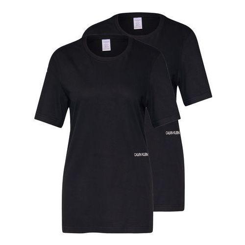 koszulka do spania 's/s crew neck 2pk' czarny, Calvin klein underwear