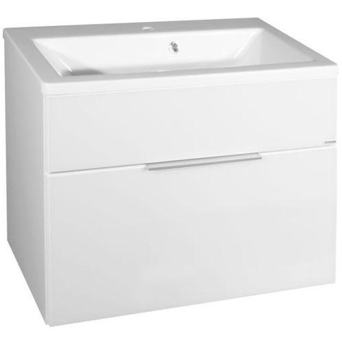 Szafka łazienkowa KARA biała 1 szuflada 80 cm