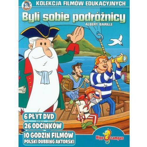 Byli sobie podróżnicy - kolekcja filmów (dvd) marki Hippocampus
