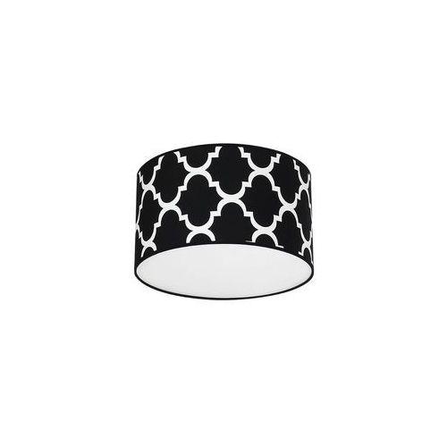 Plafon pierre black 1xe27 mlp4417 - - sprawdź kupon rabatowy w koszyku marki Milagro