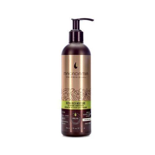ultra rich cleansing conditioner | nawilżająca odżywka myjąca do włosów grubych 300ml marki Macadamia