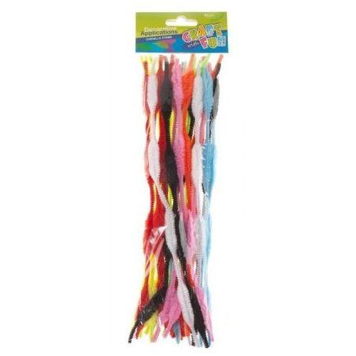 Ozdoba dekoracyjna druciki powlekane kolorowe (5907604658611)