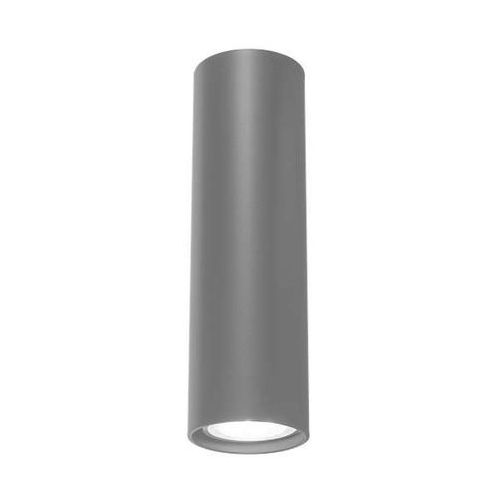 Minimalistyczna LAMPA ścienna NODA 4438/GU10/SZ Shilo metalowa OPRAWA kinkiet tuba szara
