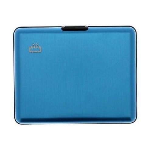 Ogon Big Stockholm Blue pojemny i wytrzymały aluminiowy portfel - sprawdź w wybranym sklepie