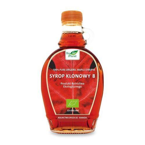 : syrop klonowy klasa b bio - 250 ml marki Bio planet