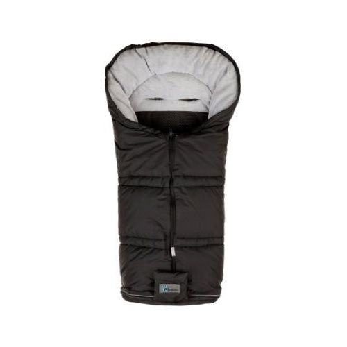 Alta bebe Altabebe śpiworek zimowy sympatex do wózka kolor czarny/jasnoszary