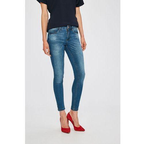 - jeansy dsyskinny reg bima slit marki Jacqueline de yong