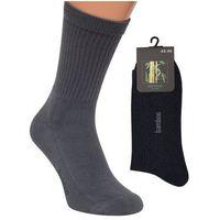 Skarpety półfrote bamboo 43-46, czarny/nero, regina socks marki Regina socks