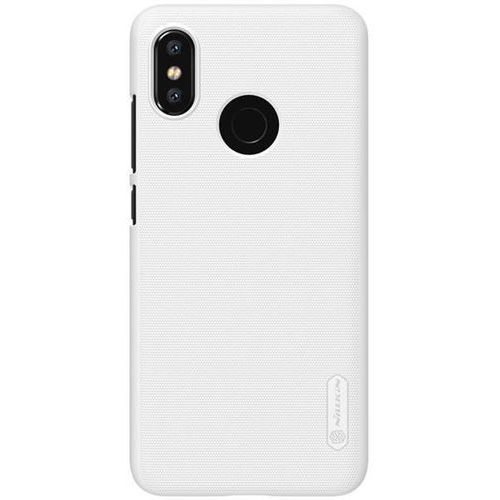 Etui Nillkin Frosted Shield Xiaomi Mi 8 - White - White, kolor biały