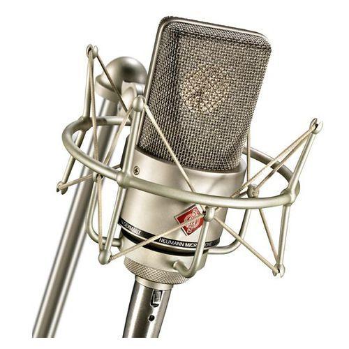 tlm 103 studio set mikrofon studyjny + uchwyt elastyczny ea1, kolor niklowy marki Neumann