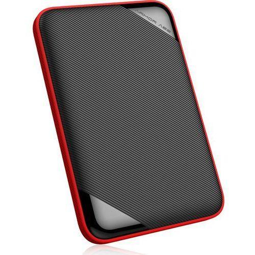 """Silicon power Dysk zewnętrzny armor a62 1tb 2,5"""" usb 3.1 czarno-czerwony, slim (4712702658385)"""