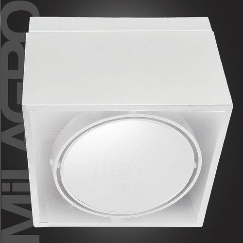 Plafon oprawa natynkowa lampa sufitowa downlight blocco 1x7w led biały 476 marki Milagro