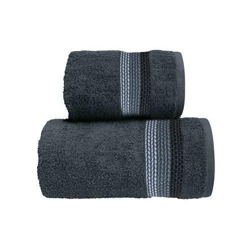 Greno Ręcznik bawełniany ombre popielaty