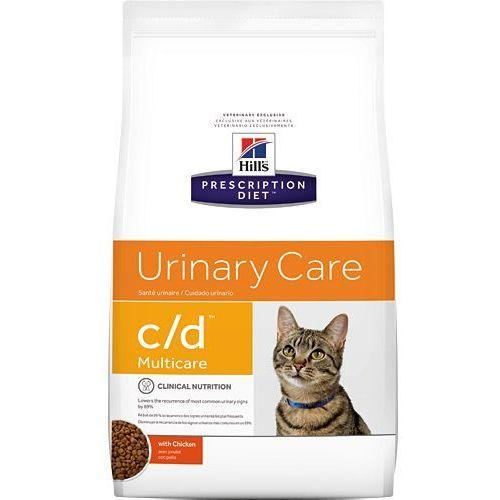 Hill's pd prescription diet feline c/d multicare kurczak 400g marki Hills prescription diet