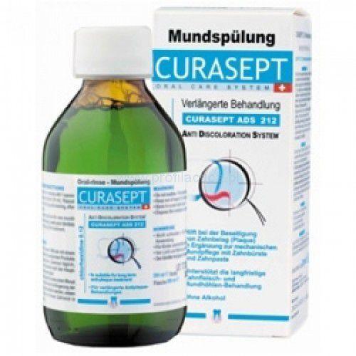 Curasept ads 212 płyn do płukania jamy ustnej 0.12 % chx 200 ml marki Curaprox