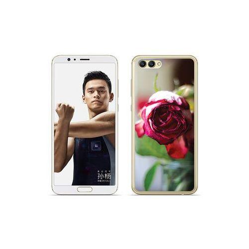 etuo Foto Case - Huawei Nova 2S - etui na telefon Foto Case - pączek róży, kolor różowy