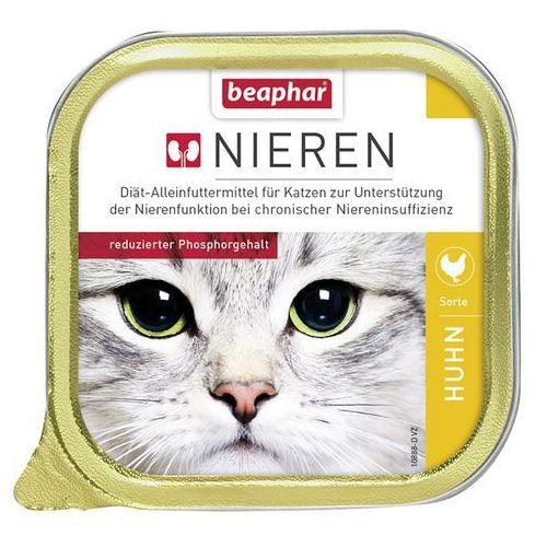 Beaphar dieta na nerki - kurczak, 12 x 100 g  darmowa dostawa od 89 zł + promocje od zooplus!  -5% rabat dla nowych klientów