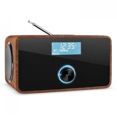 DABStep DAB/DAB+ Radio cyfrowe Bluetooth UKF RDS Budzik kolor orzechowy
