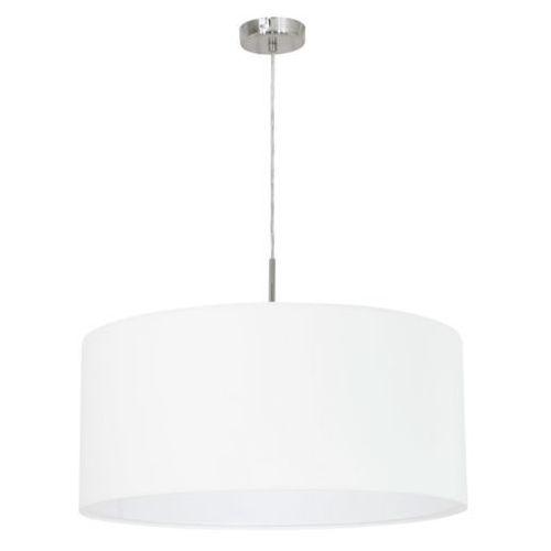Eglo 31575 - Lampa wisząca PASTERI 1xE27/60W/230V, kolor Biały