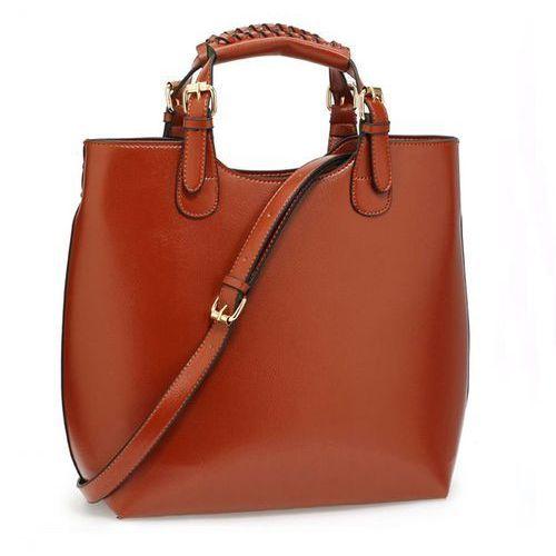 Torebka damska Shopper Bag Hit! jasny brąz - jasnobrązowy