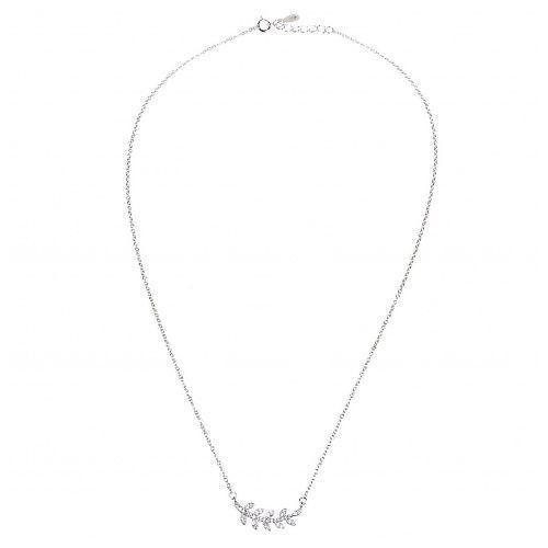 Biżuteria damska ze srebra naszyjnik srebrny sł.029.01 marki Saxo
