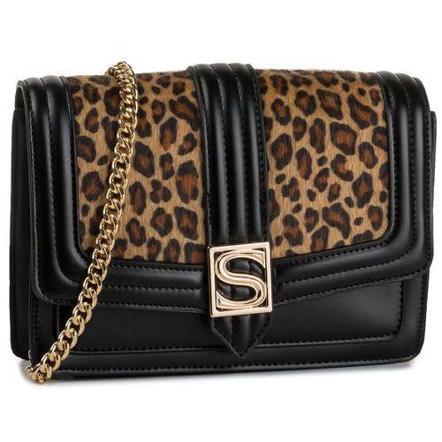 Silvian heach Torebka - cloutch silvian leo rca19020bo black/leopard w2585