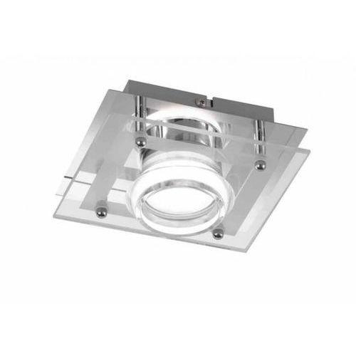 Wofi MOODY spot ścienny LED Chrom, 1-punktowy - Nowoczesny - Obszar wewnętrzny - MOODY - Czas dostawy: od 3-6 dni roboczych (4003474300849)