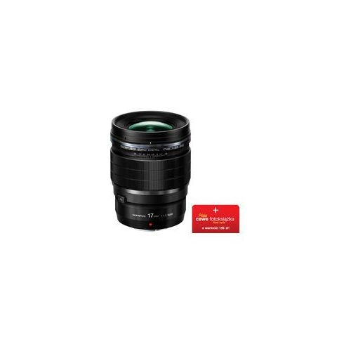 Olympus M.Zuiko Digital 17mm f/1.2 PRO (czarny) (4545350051662)