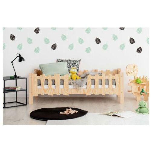 Drewniane łóżko dziecięce ze stelażem 12 rozmiarów - tiffi 3x marki Producent: elior