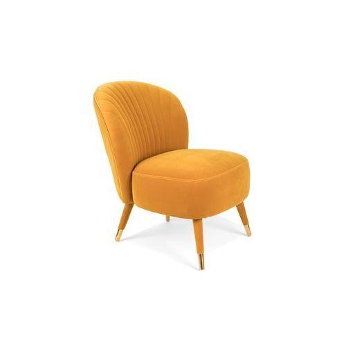 krzesło koktajlowe well dressed musztardowe bm31015 marki Bold monkey