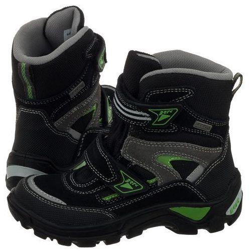 Buty trekkingowe czarne/zielone 44673-p8 (ba44-a) marki Bartek