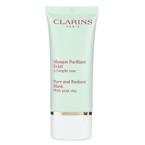 pure and radiant mask whit pink clay 50 ml maska oczyszczająca marki Clarins