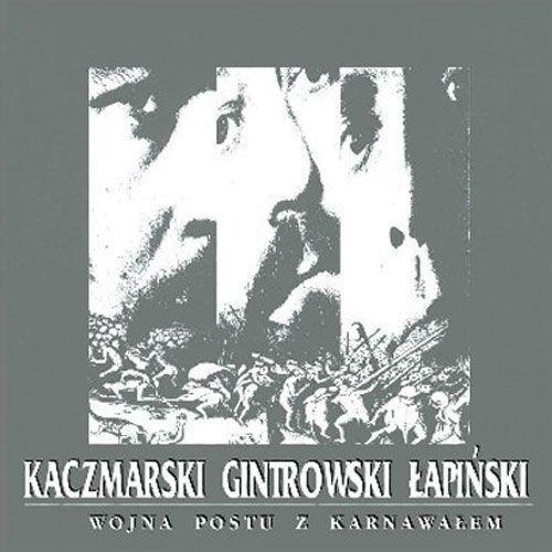 Warner music poland Wojna postu z karnawałem [reedycja] - przemyslaw gintrowski, jacek kaczmarski, zbigniew łapiński (5099991277022)