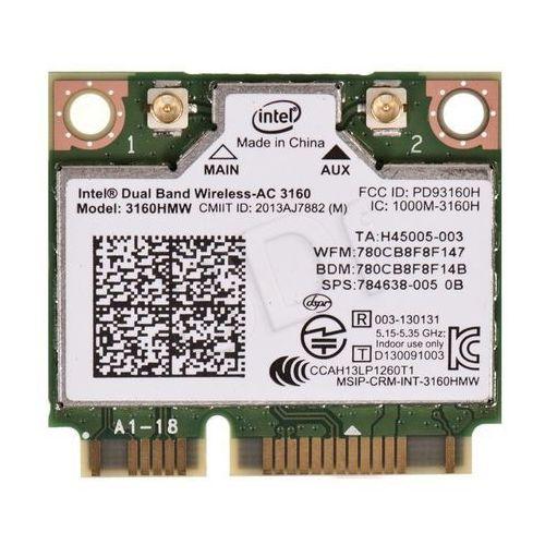 Intel Karta sieciowa ac 3160 hmwg.r - (936208) darmowy odbiór w 21 miastach!
